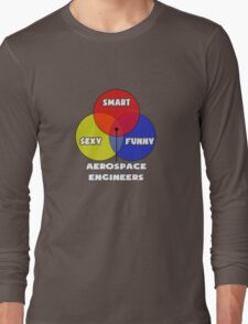 Venn Diagram - Aerospace Engineers Long Sleeve T-Shirt