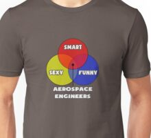 Venn Diagram - Aerospace Engineers Unisex T-Shirt