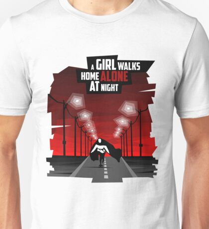 A Girl Walks Home Alone At Night Unisex T-Shirt