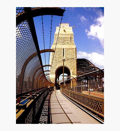 Bridge Stonework Photographic Print
