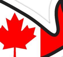 Canada Whale Sticker
