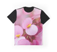 Cute little pink flowers Graphic T-Shirt