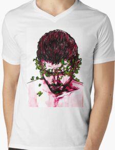 No Words Mens V-Neck T-Shirt