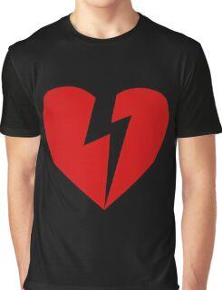 BROKEN HEART - RED Graphic T-Shirt