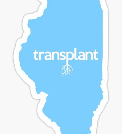 Illinois Transplant IL Blue Sticker