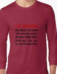 Original Weight Long Sleeve T-Shirt