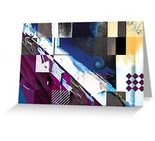 photoshop blocks Greeting Card