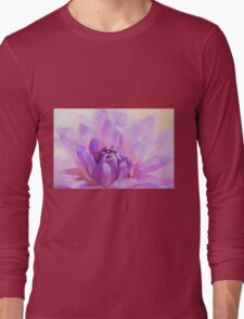 Flower Art - Magic Is Believing In Yourself Long Sleeve T-Shirt