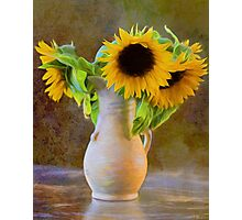 It's What Sunflowers Do - Flower Art Photographic Print