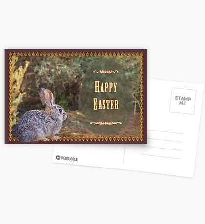 A bit wild for Easter Postcards
