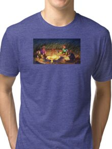 Monkey Island 2 - Campfire Stories Tri-blend T-Shirt