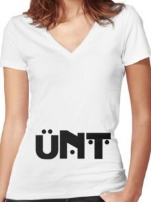 Rupaul's Drag Race, Bob The Drag Queen, UNT Women's Fitted V-Neck T-Shirt
