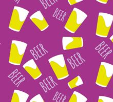 Beer colorful Sticker