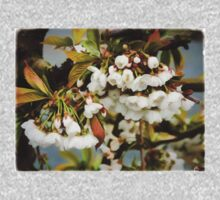 Flower Art - Apple Blossoms One Piece - Long Sleeve