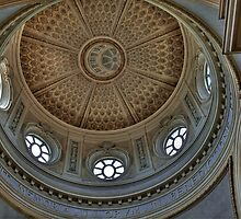 Church of St. Hubert - Ceiling by paolo1955