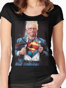 Super Bernie Women's Fitted Scoop T-Shirt