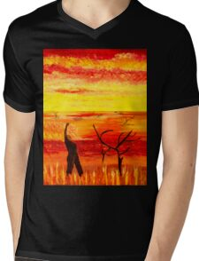 fury Mens V-Neck T-Shirt