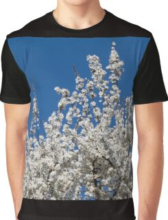 white flowers in spring Graphic T-Shirt