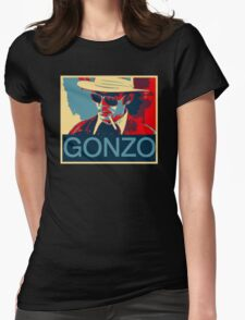 Gonzo: Hunter S. Thompson Womens Fitted T-Shirt