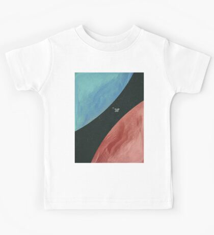 Earth collides with Mars Kids Tee