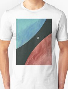 Earth collides with Mars Unisex T-Shirt