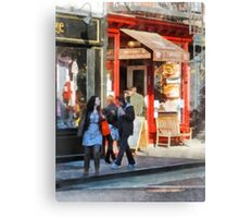 Manhattan NY - Greenwich Village Bakery Canvas Print