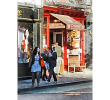 Manhattan NY - Greenwich Village Bakery Photographic Print