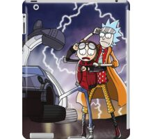 Rick And Morty Back To The Future Mash-Up iPad Case/Skin