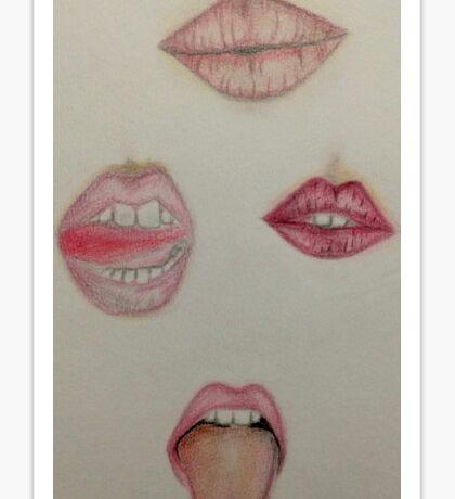 Lip Talk Sticker