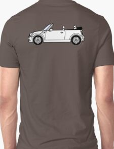 Mini, Cooper, Convertible, BMW, Motor, Car, Soft Top T-Shirt