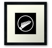 Headstock Rock - Metal Framed Print