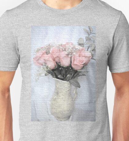 Love Silently - Flower Art Unisex T-Shirt