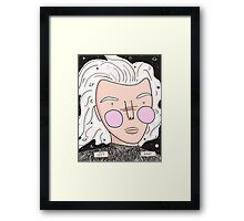 Harry Styles does Beethoven Framed Print