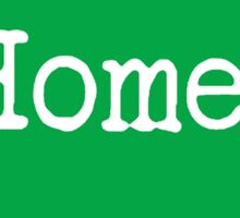 Iowa Home IA Green Sticker