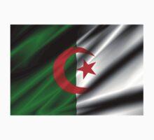 flag of algeria Kids Tee