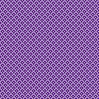 Purple japanese pattern seigaiha by purplesparrow