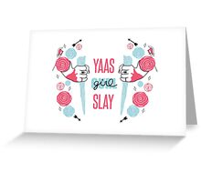 Buffy The Vampire Slayer- Girl Power Greeting Card
