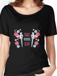 Buffy The Vampire Slayer- Girl Power Women's Relaxed Fit T-Shirt
