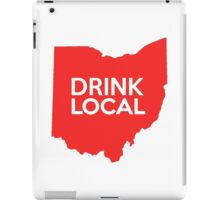 Ohio Drink Local OH Red iPad Case/Skin