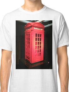 Lego telephone box  Classic T-Shirt