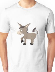 Cartoon Donkey Unisex T-Shirt