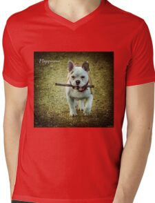 Happiness Is... Mens V-Neck T-Shirt
