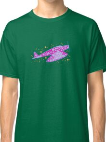 Airplane with Stars Classic T-Shirt
