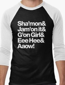 Michael Jackson Lyrics - Eee Hee! Men's Baseball ¾ T-Shirt