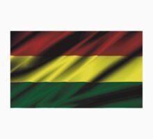 flag of bolivia Kids Tee