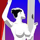 Window nude by Michael Birchmore