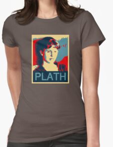 Sylvia Plath Womens Fitted T-Shirt