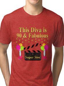 90 YEAR OLD MOVIE STAR Tri-blend T-Shirt