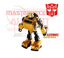 Transformers G1 Bumblebee Photographic Print