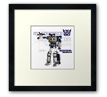 Transformers G1 Soundwave Framed Print